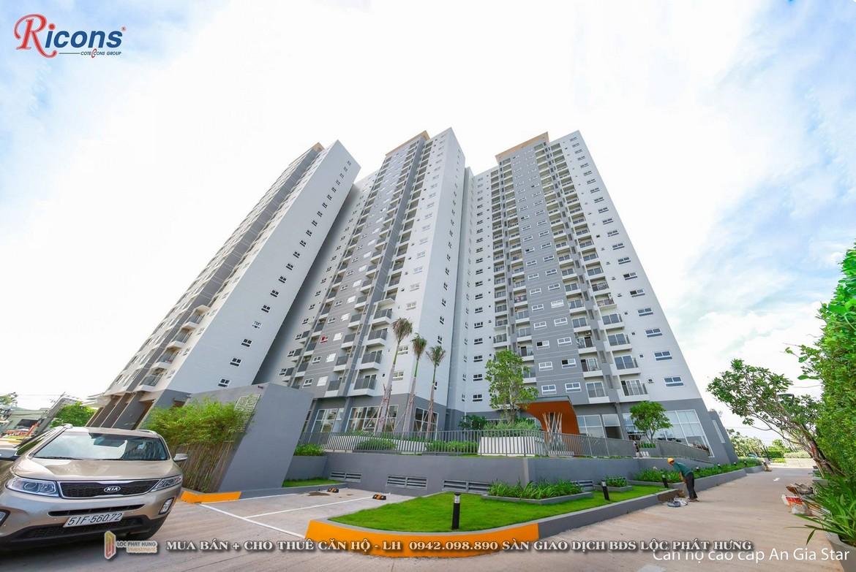 Hình ảnh thực tế dự án căn hộ chung cư An Gia Star Quận Bình Tân Đường Quốc Lộ 1A chủ đầu tư An Gia Investment - LH SGD BĐS Lộc Phát Hưng - Hotline: 0942.098.890 - 0973.098.890 nhận mua bán + cho thuê