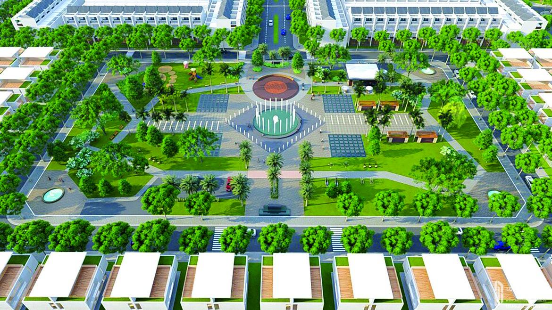 Tiện ích dự án đất nền nhà phố QI Island Bình Dương Đường Ngô Chí Quốc