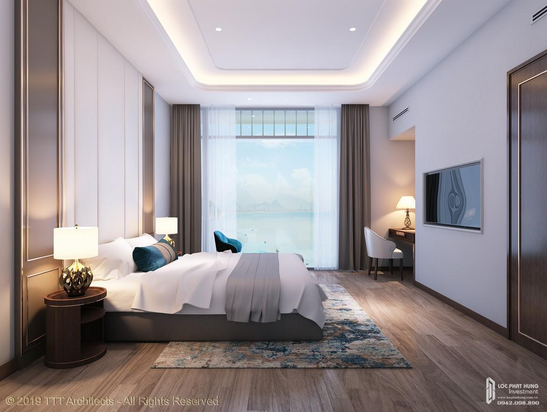 Nhà mẫu căn hộ penhouse tại Condotel Oyster Gành Hào Đường 82 Trần Phú chủ đầu tư Vietpearl Group