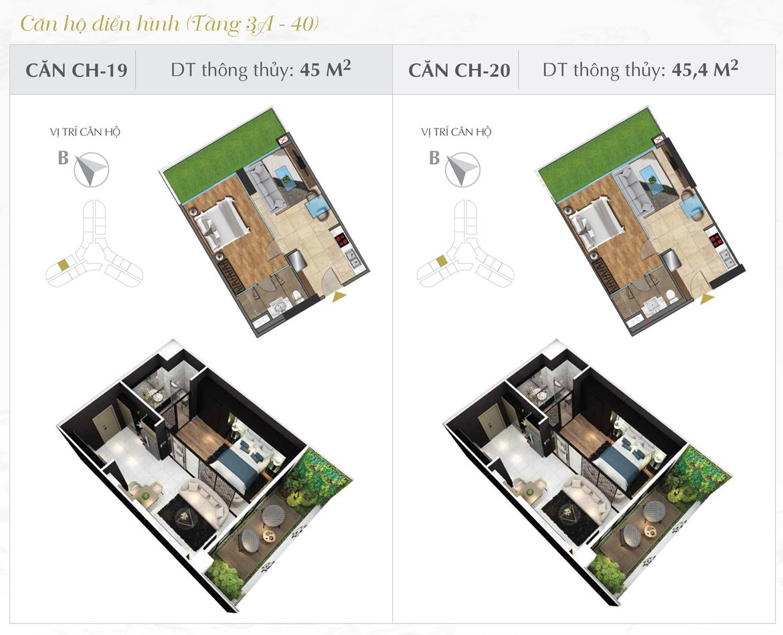 Thiết kế chi tiết căn hộ số 19 và 20 dự án Sunshine Diamond River Quận 7 – Liên hệ 0973.098.890 báo giá căn này
