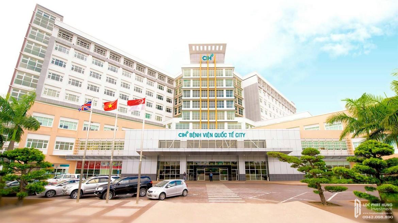 Tiện ích ngoại khu dự án căn hộ chung cư Saigon Asiana Quận 6 đường Nguyễn Văn Luông - Bệnh viện quốc tế cách 2km dự án Saigon Asiana.
