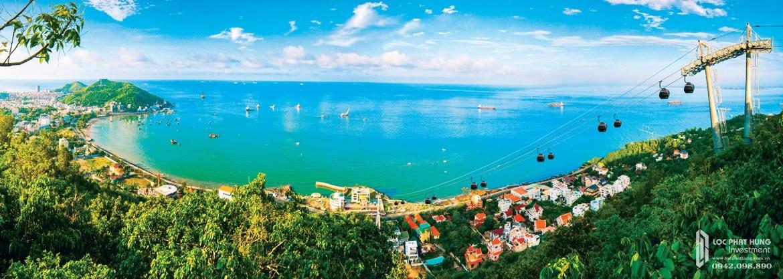 Khu du lịch Hồ Mây cách 5 phút di chuyển từ Condotel Oyster Gành Hào