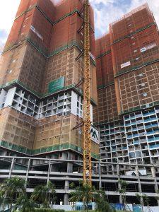 Tiến độ xây dựng dự án căn hộ chung cư Eco Green Sài Gòn Quận 7 Tháng 8/2019