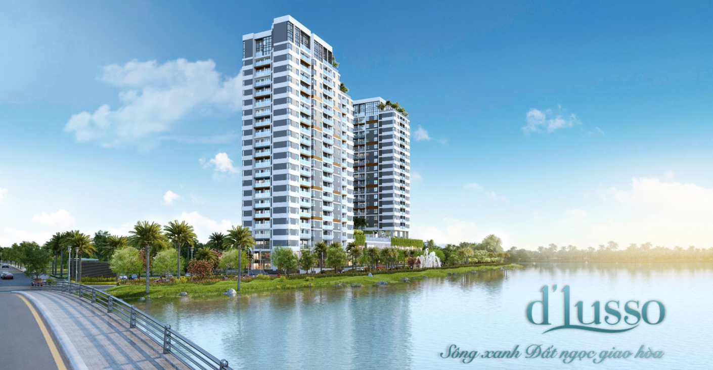 Phối cảnh tổng quan dự án căn hộ D'lusso Emerald
