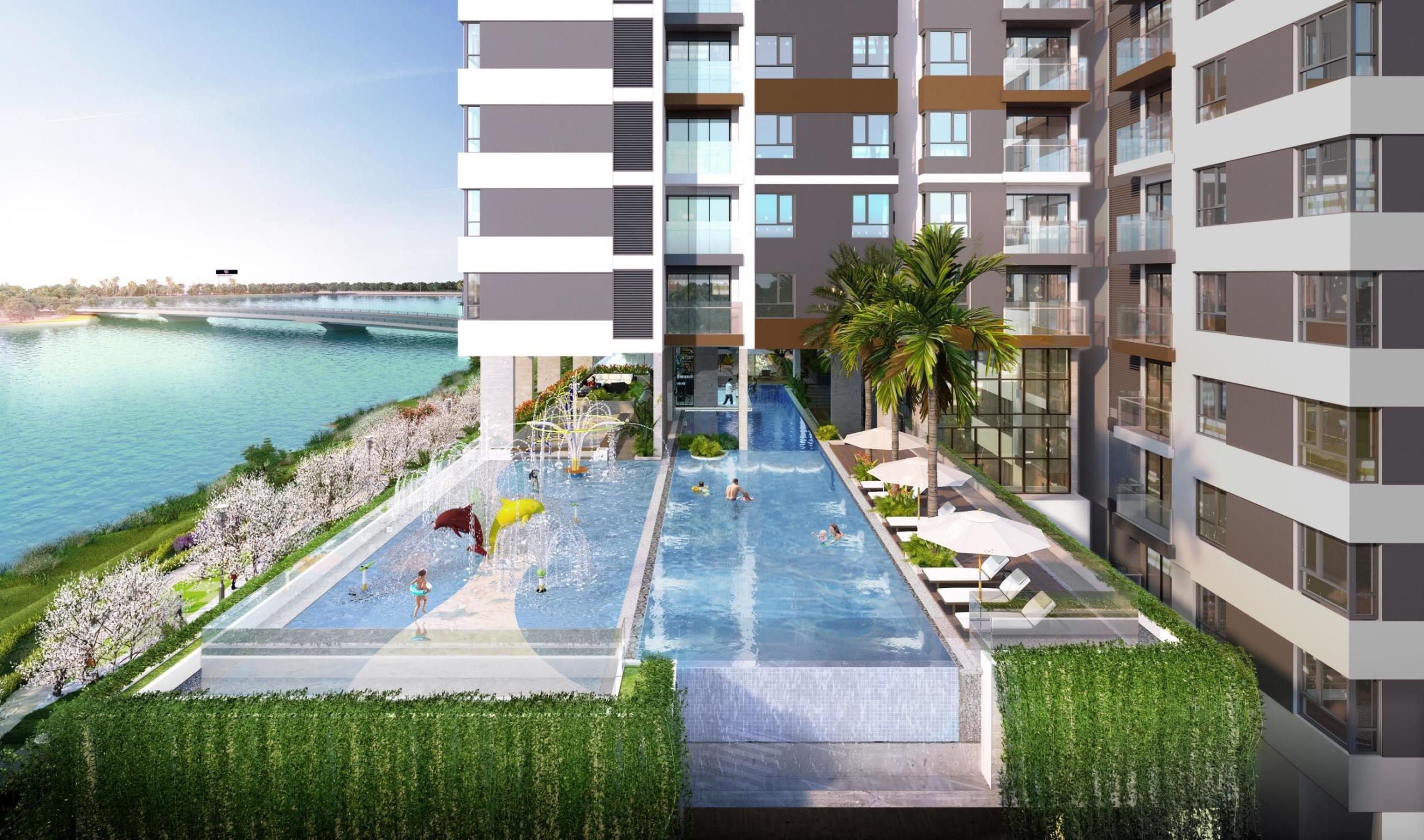 Phối cảnh dự án căn hộ D'lusso Emerald Quận 2
