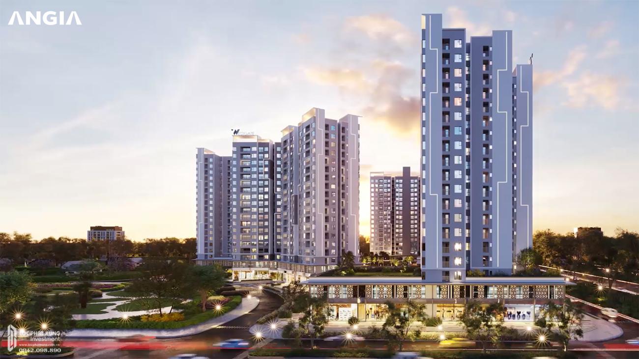 Phối cảnh tổng thể dự án căn hộ West Gate đường Tân Túc