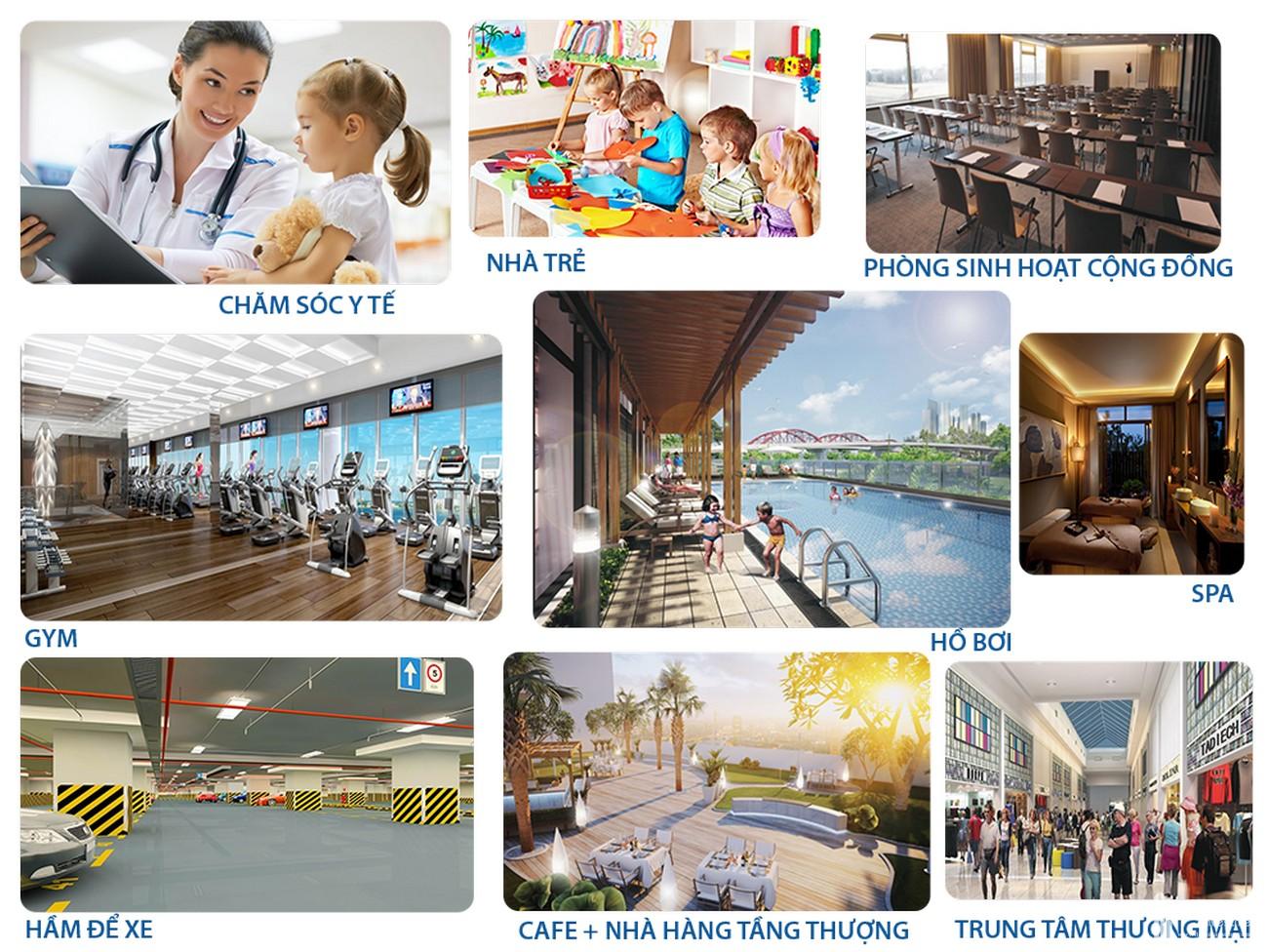Tiện ích dự án đất nền nhà phố biệt thự Qi Island Bình Dương Đường Ngô Chí Quốc chủ đầu tư Hoa Lâm