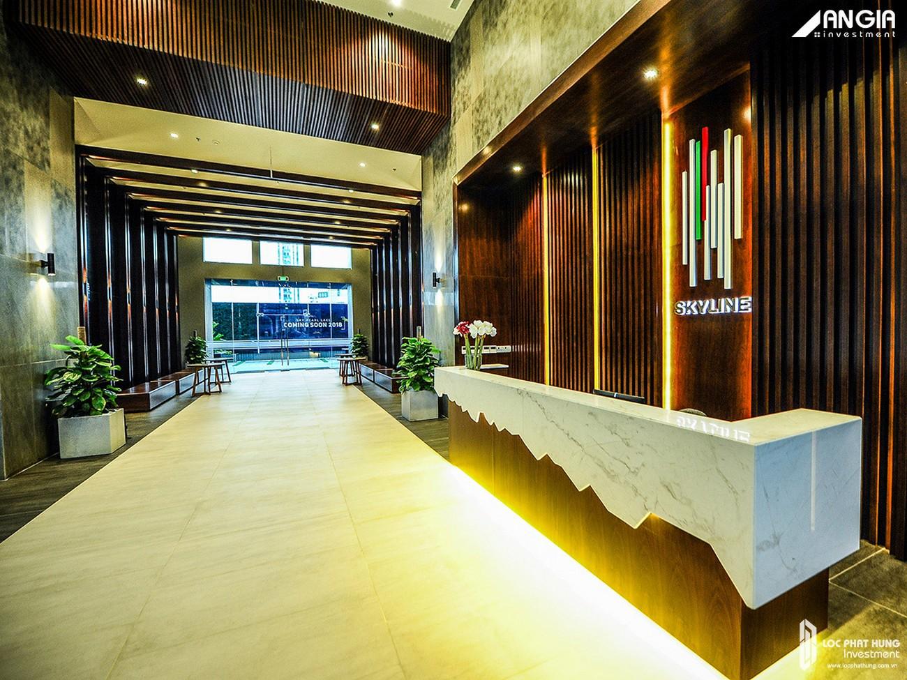 Mua bán cho thuê căn hộ chung cư An Gia Skyline Quận 7 - Hình ảnh thực tế sảnh đón AnGia Skyline