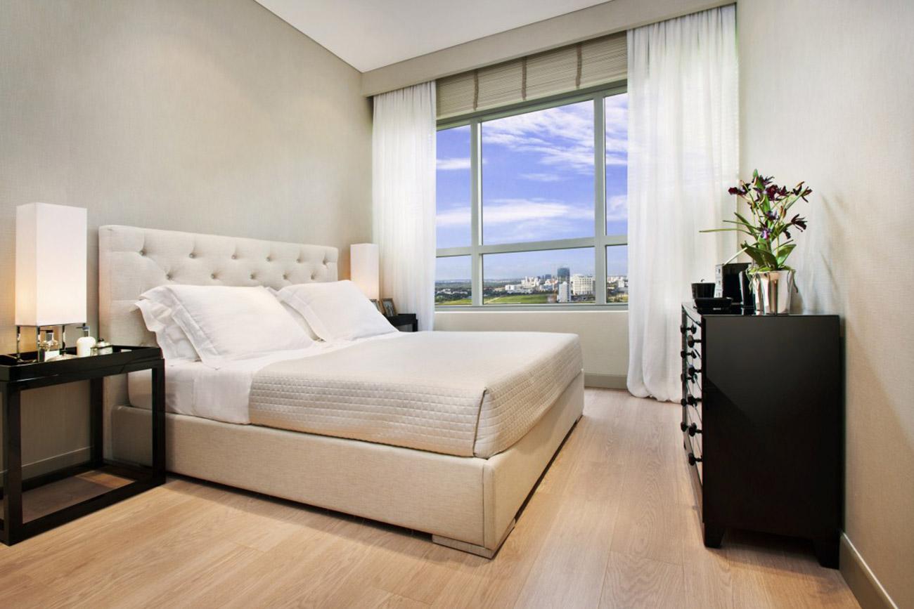 Phòng ngủ căn hộ 4 Phòng ngủ Riviera Point