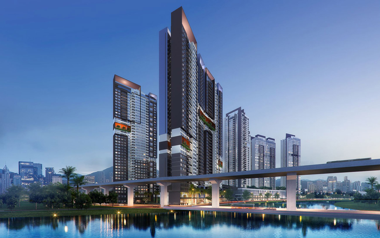 Tổng thể dự án Riviera Point Huỳnh Tấn Phát
