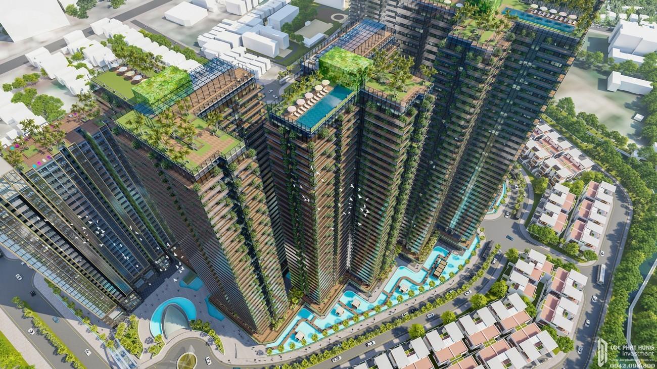 Phối cảnh tổng thể dự án căn hộ Sunshine City