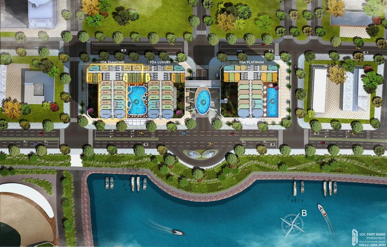 Thiết kế dự án condotel La Luna Nha Trang