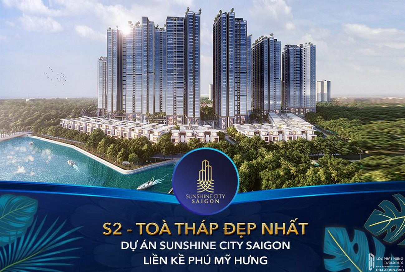 Ra mắt tòa S2 dự án căn hộ Sunshine City Sài Gòn Quận 7