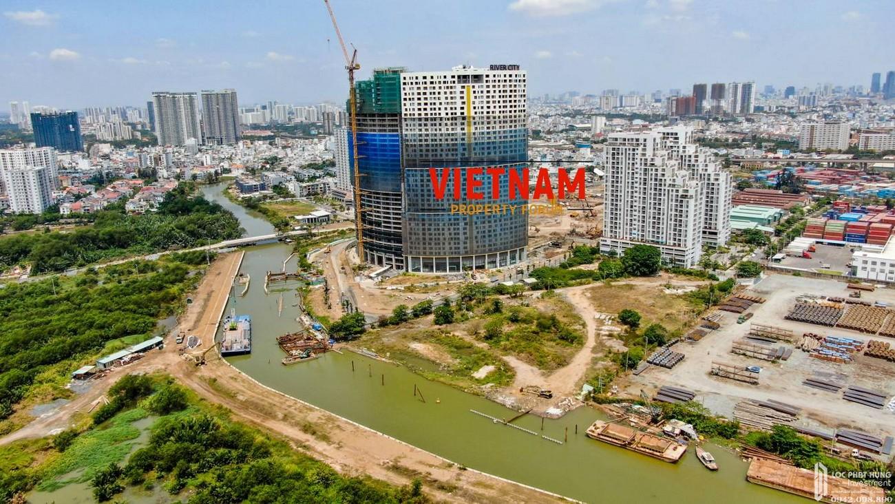 Tiến độ xây dựng dự án căn hộ chung cư Sunshine Diamond River 01/05/2020