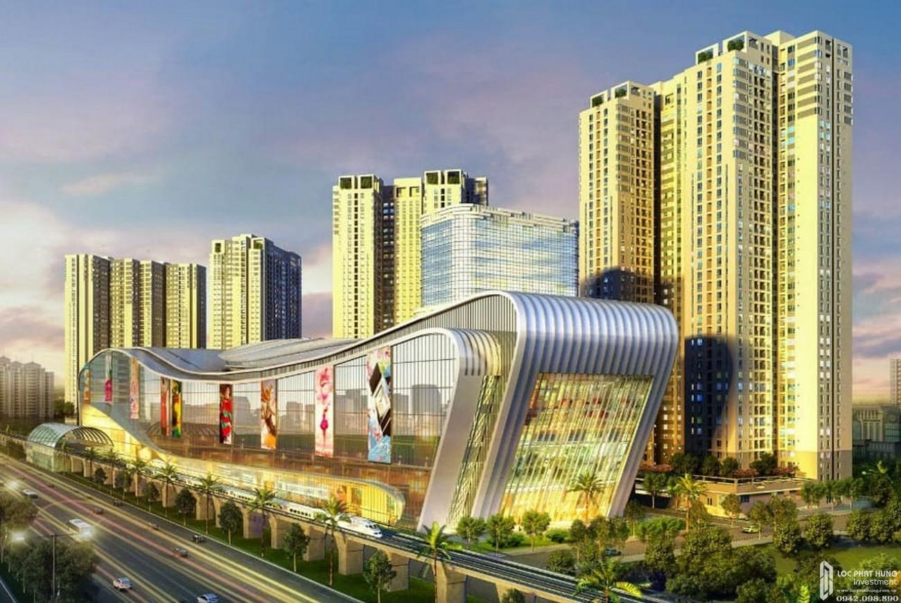 Hình ảnh tổng thể dự án căn hộ Masteri Thảo Điền