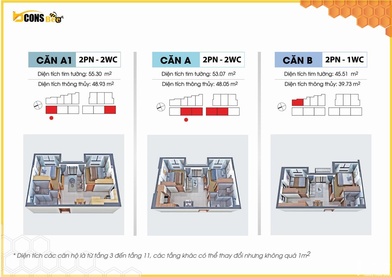 Thiết kế dự án căn hộ chung cư Bcons Bee Dĩ An Đường Trần Đại Nghĩa chủ đầu tư Bcons