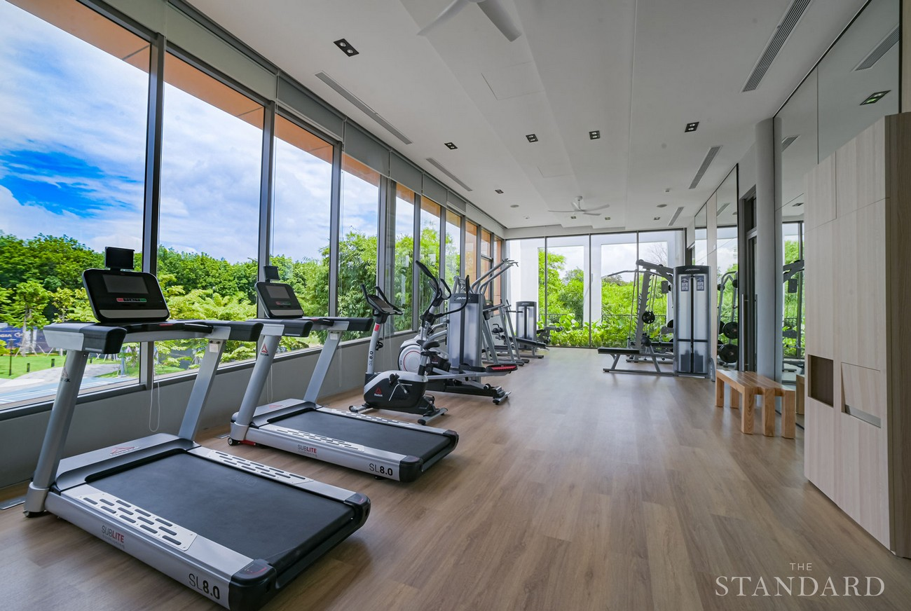 Hình ảnh thực tế tiện ích phòng Gym dự án nhà phố The Standar Central Park Tân Uyên Bình Dương