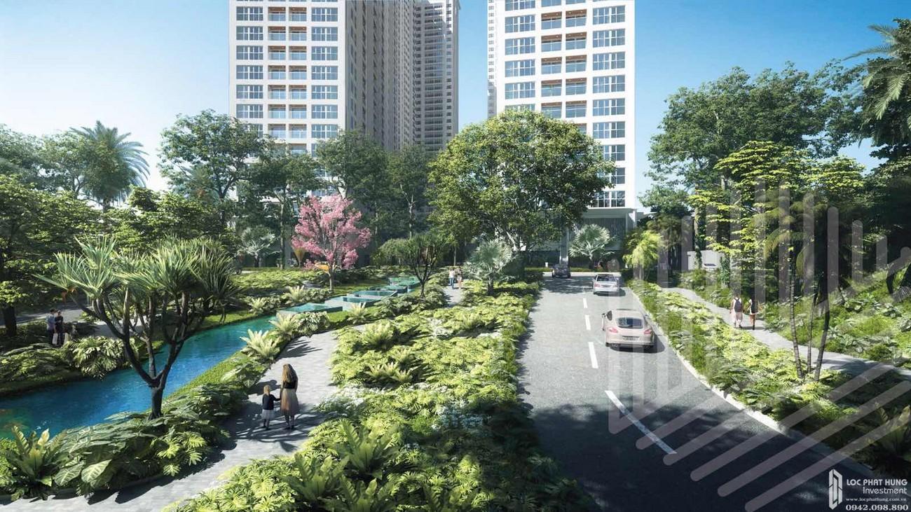 Hỉnh ảnh thực tế dự án căn hộ chung cư Anderson Park Thuận An Đường Quốc lộ 13 chủ đầu tư Quốc Cường Gia Lai
