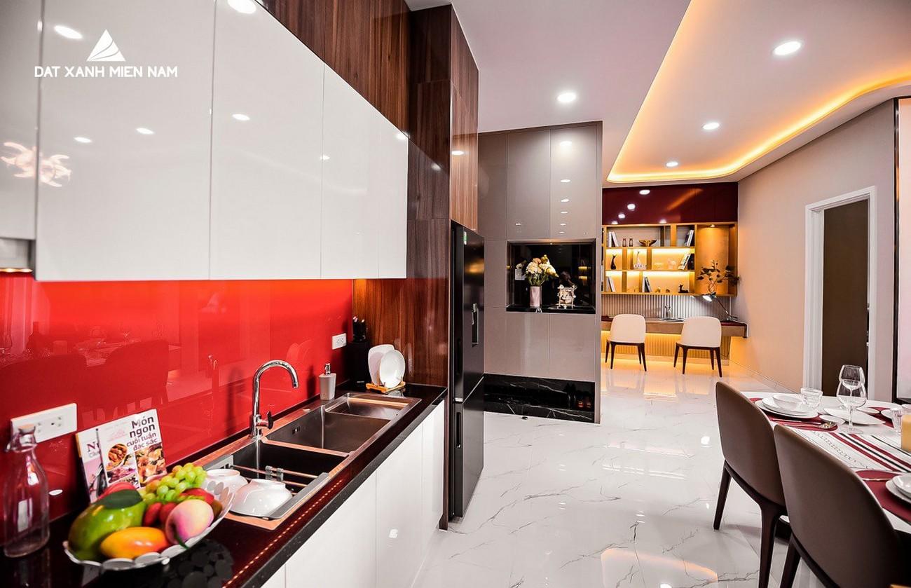 Nhà mẫu dự án căn hộ 1 phòng ngủ LDG Sky Bình Dương
