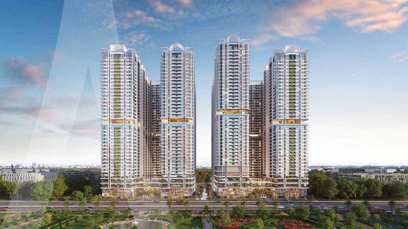 Phối cảnh tổng thể dự án căn hộ Astral City Phát Đạt Đường Quốc lộ 13