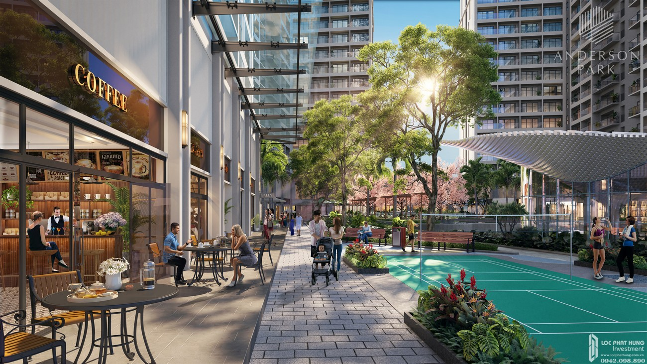 Tiện ích dự án căn hộ chung cư Anderson Park Thuận An Bình Dương