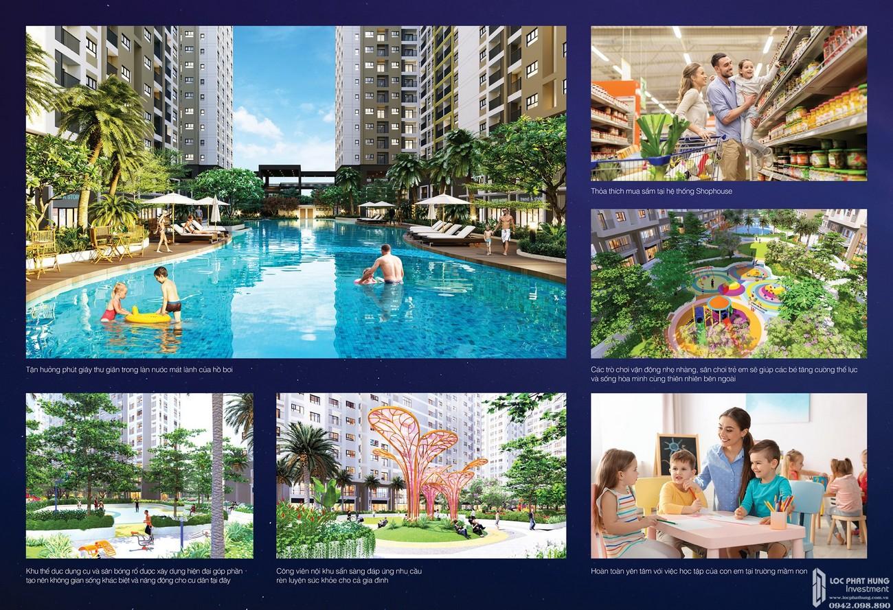 Tiện ích nội khu dự án căn hộ chung cư LDG Sky Bình Dương chủ đầu tư LDG Group