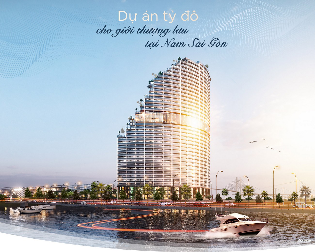 Babylon Tower nằm trong tổng thể dự án căn hộ Sunshine Diamond River quận 7
