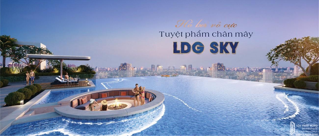 Hồ bơi dự án LDG Sky Bình Dương chủ đầu tư LDG Group