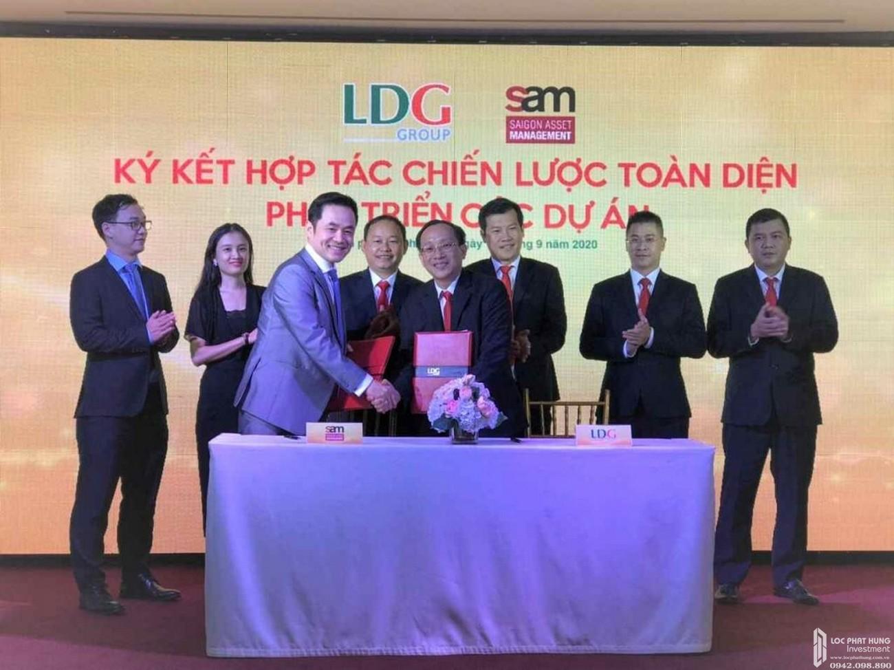 LDG kỳ vọng ký kết hợp tác chiến lược toàn diện với tập đoàn quản lý quỹ đầu tư S.A.M