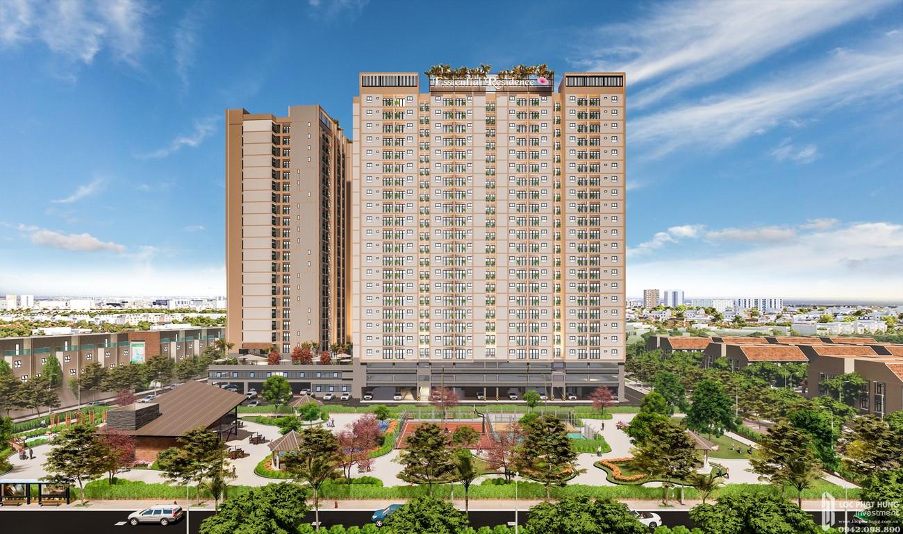 Phối cảnh tổng thể dự án căn hộ Eco Xuân Bình Dương Đường Quốc Lộ 13 chủ đầu tư SP Setia Malaysia