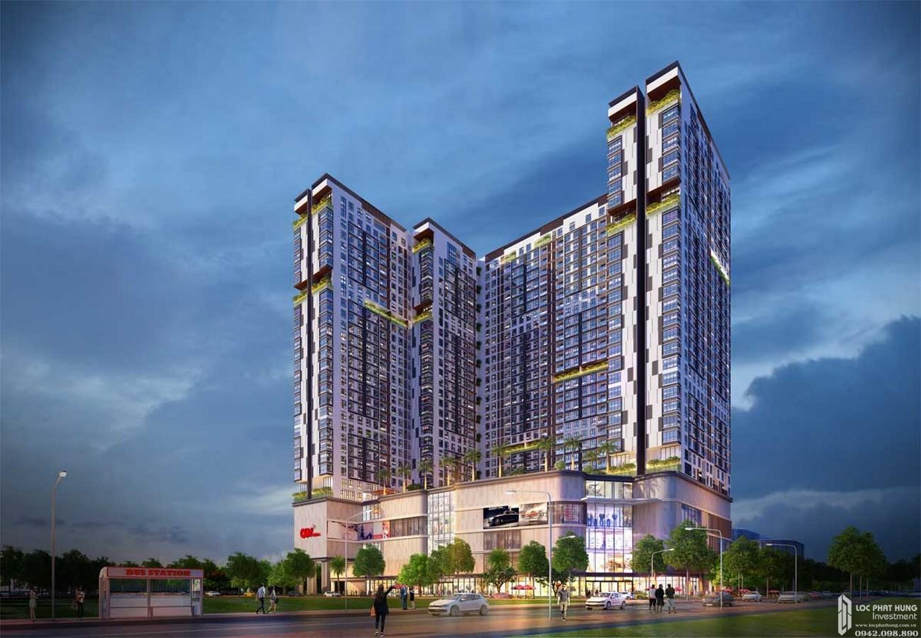 Phối cảnh tổng thể dự án căn hộ chung cư King Crown Thủ Đức Đường Võ Văn Ngân chủ đầu tư Gia Khang