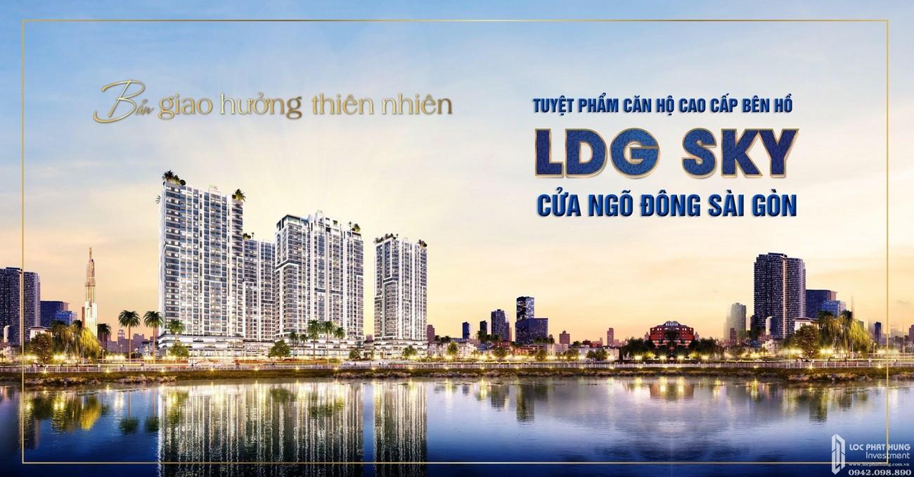 LDG Sky Bình Dương - Tuyệt phẩm căn hộ cao cấp bên hồ