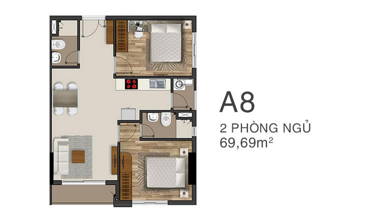 Thiết kế dự án căn hộ chung cư King Crown Thủ Đức Đường Võ Văn Ngân chủ đầu tư Gia Khang