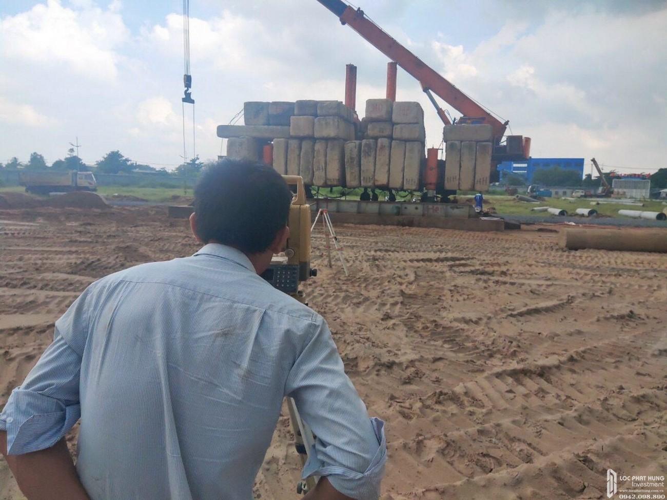 Tiến độ dự án căn hộ chung cư West Gate Bình Chánh chủ đầu tư An Gia - tháng 09/2020