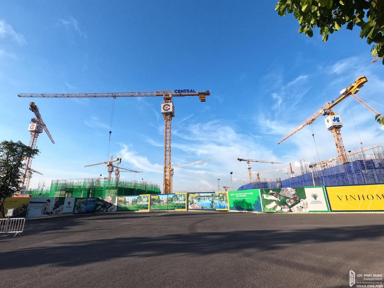 Tiến độ dự án căn hộ chung cư The Origami Quận 9 Đường Nguyễn Xiển chủ đầu tư Vingroup