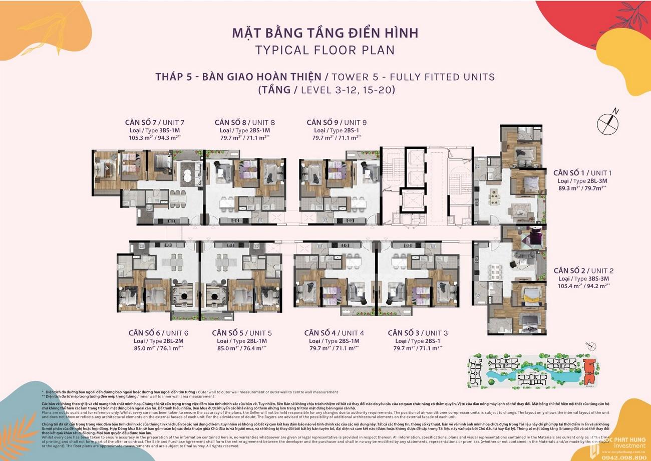 Mặt bằng dự án căn hộ chung cư Celesta Rise Nhà Bè Đường Nguyễn Hữu Thọ chủ đầu tư Keppel Land