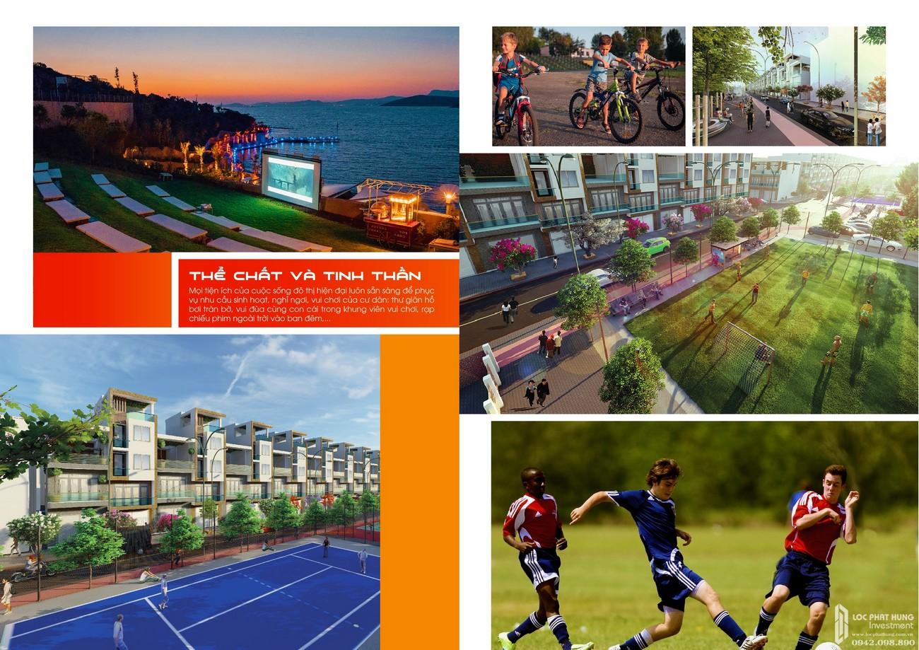 Tiện ích dự án đất nền Fenix City Châu Thành Đường Nam Sông Hậu