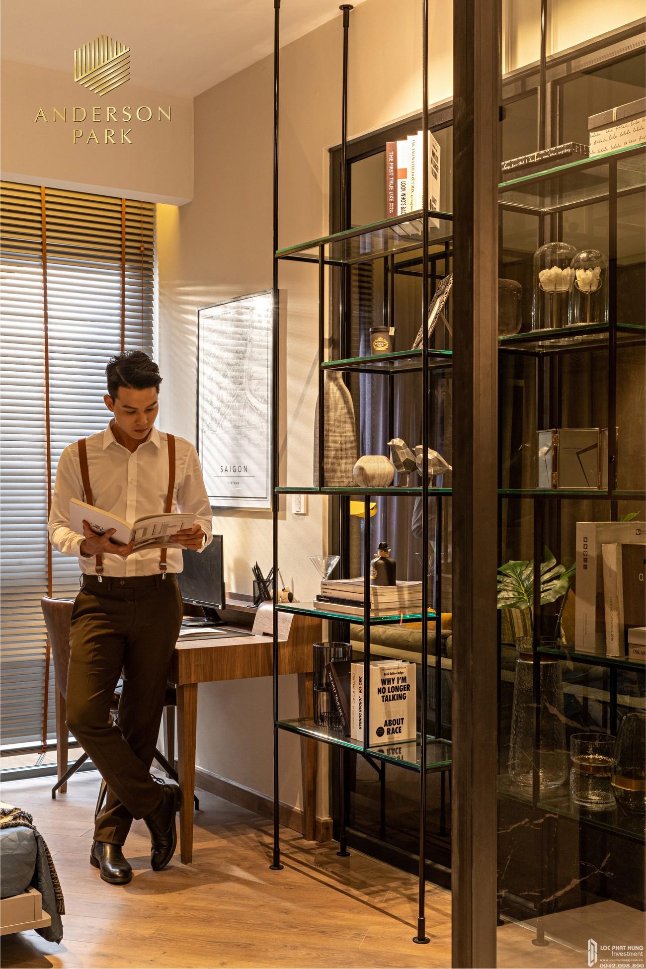 Nhà mẫu dự án căn hộ chung cư Anderson Park Thuận An Đường Quốc lộ 13 chủ đầu tư Quốc Cường Gia Lai