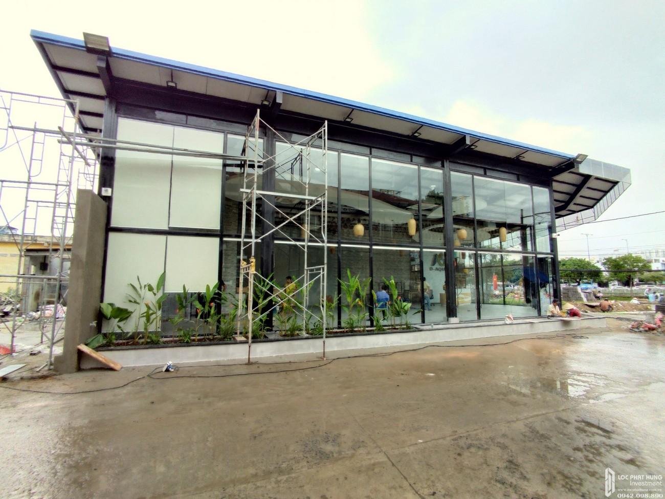 Tiến độ dự án căn hộ chung cư D Aqua Quận 8 chủ đầu tư DHA Corp