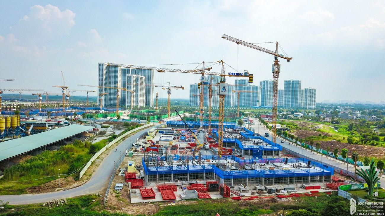 Tiến độ dự án căn hộ chung cư Vinhomes Grand Park Quận 9 Đường Nguyễn Xiển chủ đầu tư Vingroupv