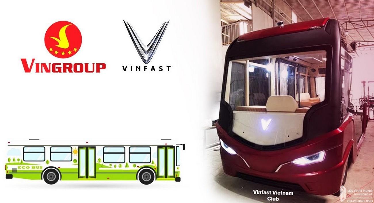 Xe buýt điện VinBus của chủ đầu tư Vingroup